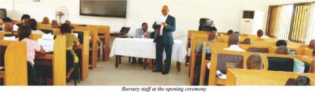 Bursary Staff End Workshop On Int'l Accounting Package