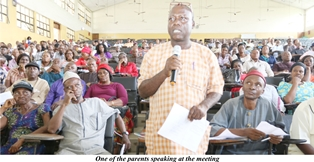 Parents' Forum Not Lobby Platform For Erring Students ~Lale   By Otikor Samuel
