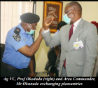 AVC Assures  Choba Police Of  Continued Support
