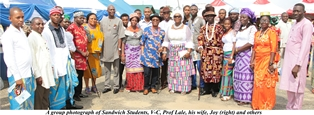 V-C, Others Advise Sandwich Students To Sustain Cultural Day Activities  By Mercy Adeniji